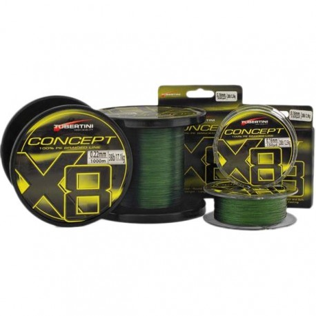 Tubertini Lines Braided Line Concept X8