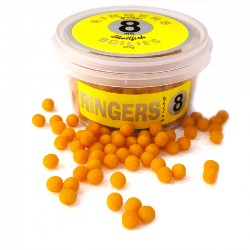 Boilies Yellow Shellfish afondanti 8 mm RINGERS - 100 gr