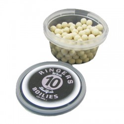 Boilies White Shellfish 10 mm RINGERS - 100 gr