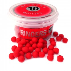 Boilies RED Shellfish 10 mm RINGERS BAITS - 100 gr