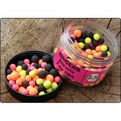 BOILIES 8 & 10 MM  POPUP  RINGERS BAITS - 100 GR