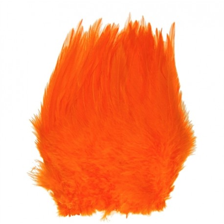 Hareline Strung Chinese Saddle Hackle  5-7