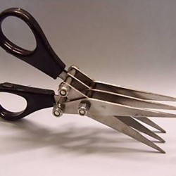 NUFISH Choppies Scissors tijeras lombriz