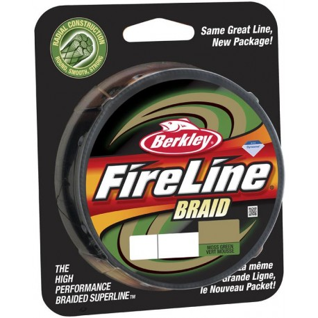 Fireline Braid (Radial construction) BERKLEY