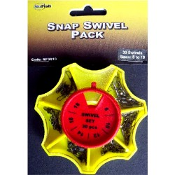 Snap Swivel pack Dispenser emerillones
