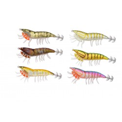 SAVAGE GEAR 3D HYBRID SHRIMP EGI JIG  7.5 cm