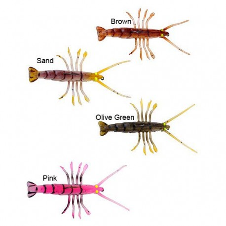 VINILO SAVAGE GEAR TPE FLY SHRIMP - 5CM