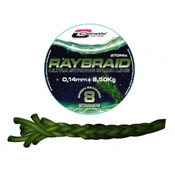 RAYBRAID GREEN SEAWEED 270 mts  CINNETIC