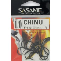 ANZUELO SASAME F-713 CHINU DARK BLACK